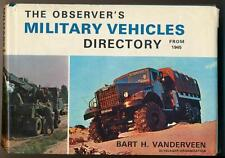 Military Vehicles Directory from 1945 Bart Vanderveen LKW Truck Jeep Olyslager