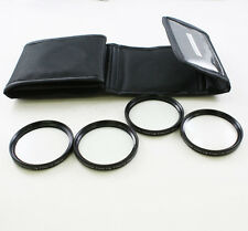 55mm 55 mm Close Up +1 +2 +4 +10 Macro Filter Lens Set for Canon Nikon DC camera