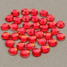 1000 Resin Rhinestones Crystal Flat Back Acrylic Gems Nail Art Craft Scrapbook