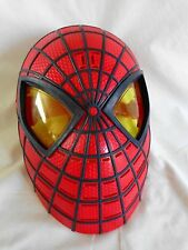 The Amazing SPIDERMAN Talking Face Mask Says 10 Phrases 2012 Marvel Comics Adult