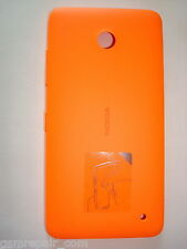 Genuine Original Battery Rear Cover Nokia Lumia 630 / 630 2SIM Dual SIM Orange