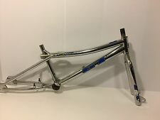 1998 GT Performer BMX Bicycle Frame & Fork Chrome 4130 Old School Freestyle Bike
