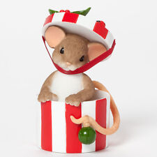 Charming Tails You're The Only Gift I Need Figure 4041180 Mouse NEW Christmas