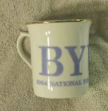 Brigham Young University BYU Cougars 1984 Football Champions 3 5/8 Inch Mug