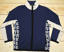 DALE OF NORWAY - MERINO WOOL - full zip warm sweatshirt SWEATER - size S
