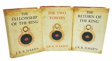 Lord of the Rings J.R.R. Tolkien First UK Editions Early Original Illustrations
