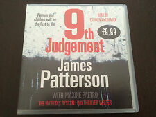 """9th Judgement"" by James Patterson (CD, Audio Book, 5 CD's, 2010) *VGC*"