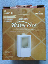 FG EASYHEAT NON-PROGRAMABLE THERMOSTAT 120 OR 240 VOLT DUAL VOLTAGE CLASS A GFCI