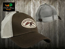 NEW AUTHENTIC DUCK COMMANDER DYNASTY BROWN & MESH TRUCKER HAT CAP BUCK