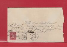 1950 George VI post postes cover to FRANCE surface rate 4c