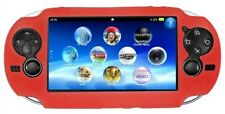 Red Soft Silicone Skin Protector Cover Case Shell for Sony PS Vita Console PSP