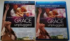 GRACE UNPLUGGED BLU RAY + DVD 2 DISC SET & SLIPCOVER FREE SHIPPING