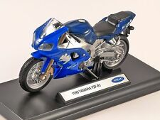 1999 YAMAHA YZF R1 1/18 scale model by WELLY
