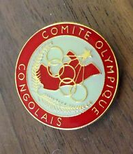 Republic of Congo National Olympic Committee (NOC) PIN Congolais - undated