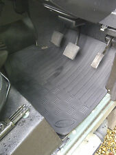 Land Rover Defender Mats Front  TD,TDi & TD5- Front Pairs  - AUTO-002