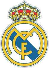 "Real Madrid FC Spain Football Soccer Car Bumper Sticker Decal 4""X5"""