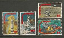 Antigua #1258-1262 VF MNH - 1989 10c to $4 Space, Rockets - SCV $7.35