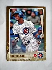 2015 Topps Gold #95 Junior Lake Chicago Cubs