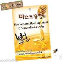 10 g Fuji Bee Venom Sleeping Mask Gold Anti-Aging Reduce Wrinkle Fine Line Firm