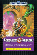 ## SEGA GENESIS - Dungeons & Dragons: Warriors of the Eternal Sun (Mega Drive) #
