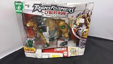TRANSFORMERS CYBERTRON Robots In Disguise LEOBREAKER with Cyber Planet Key NISB