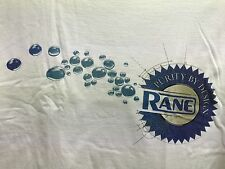 New Rane Purity by Design White Tee Shirt sz XL  FS