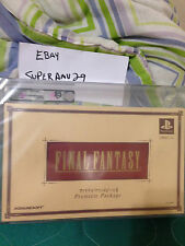 Final Fantasy I - II: Premium Package  (Sony PlayStation 1, 2002)VGA 85 ARCHIVAL