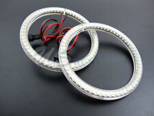 6K Xenon White Universal Fit LED Angel Eye Halo Rings 100mm 66-SMD LED VERSION 2