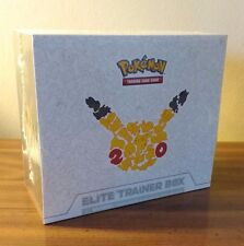 GENERATIONS Elite Trainer Box POKEMON 20th Anniversary Factory Sealed NEW