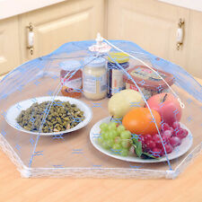 Home Kitchen Hexagonal Foldable Anti-Mosquito Mesh Dishes Food Protective Cover