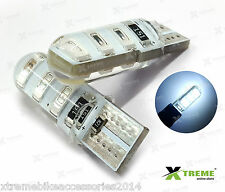 2pcs 6smd 5w Jelly T10 White Parking LED for Renault Fluence
