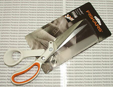 Fiskars 24cm Amplify RazorEdge Softgrip Thick Fabric Professional Scissors 9162S