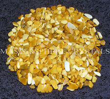 200 x Yellow Jasper Tumblestones 7mm-9mm Crystal Gemstone Wholesale Bulk