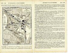 Ax-les-Thermes 1932 plan ville orig. + guide (5 p.) Casino Le-Breilh Le-Teich