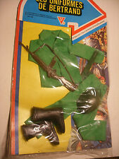 vintage ACTION GI JOE 12'' Action MAN Panoplie Les Uniformes de BERTRAND Outfits