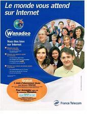 PUBLICITE  1999   FRANCE TELECOM  WANADOO