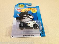 Hot Wheels HW City White Ducati 1199 Panigale Superbike Diecast Model