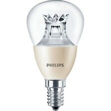 Philips Master LED Tropfen Lampe Luster Lustre 4W=25W Warm DIMMBAR DimTone E14