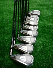 BNIW MACGREGOR DX FULL IRON SET R/H REGULAR STEEL SHAFTS 3-SW