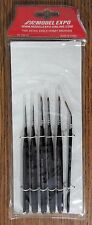 MODEL EXPO TOOLS FINE DETAIL 6pc PAINT BRUSH SET 103
