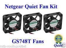 Netgear GS748T Fan KIT. 3 New Fans for Netgear GS748T GS748Tv3