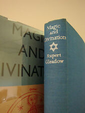 "Rare 1940's "" Magic & Divination"" Gleadow / VINTAGE OCCULT WITCHCRAFT HARDCOVER"