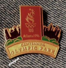 Centennial Olympic Park Pin~1996~Atlanta~Brick~20 Year Old Trader for 2016
