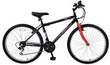 "Arden Trail Boys 24"" Wheel Mountain Bike 21 Shimano Speed 13"" Frame Black Age 8+"