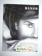 Catalogue MANGO mode fashion Penelope Cruz en gros plan