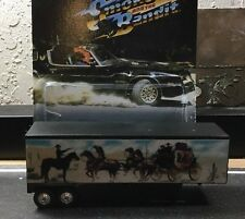 Smokey And The Bandit Custom Trailer Fits Hot Wheels Retro W/ REAL RIDERS ����