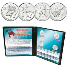 2008 Canadian Vancouver Winter Olympic Coin Collection Uncirculated Set
