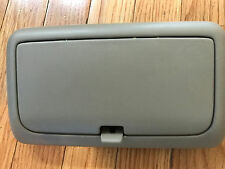 2000 2001 INFINITI I30 NISSAN MAXIMA HONEY TAN SUNGLASS HOLDER OVERHEAD