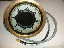 Sperry Gyro Compass Repeater Course Indicator Chrysler Marine 1875961 64024 GOVT