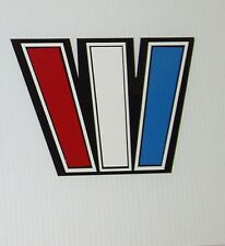2 WELLCRAFT BOAT decals Marine Viny Outlined wellcraft W 8 x 6 inch set